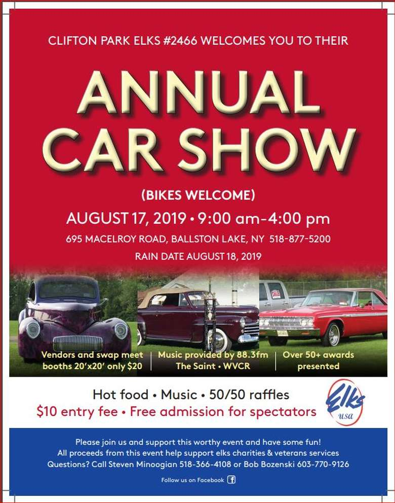 Annual Car Show Poster