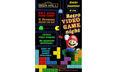 Retro Video Game Night