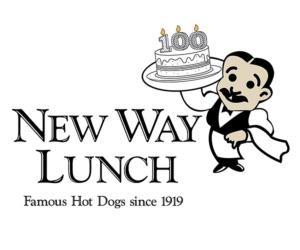 new way lunch 100th anniversary logo