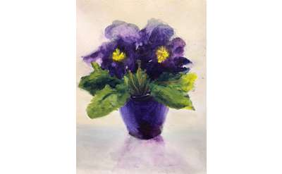Purple Primrose Paint Event
