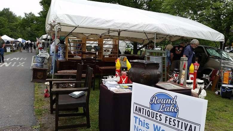 antique festival vendors