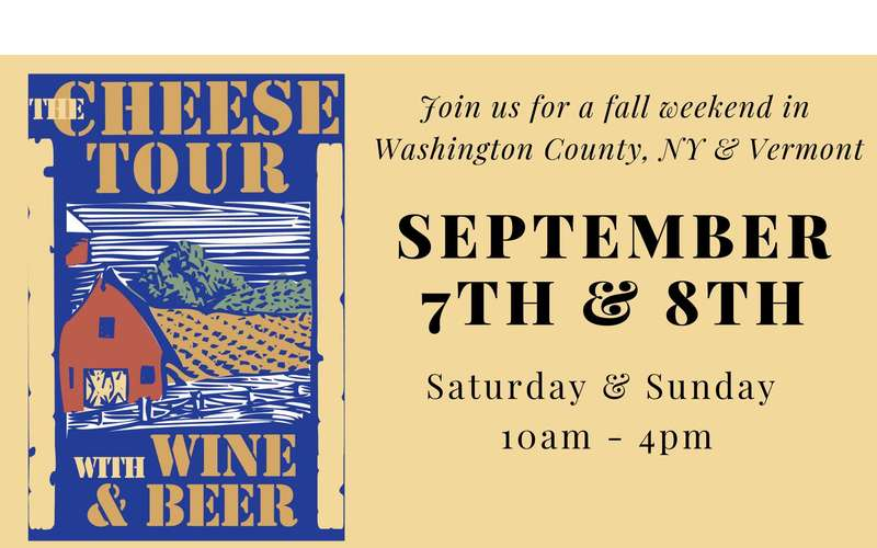 cheese tour event poster
