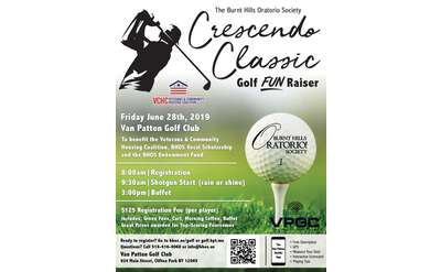 Crescendo Classic Golf Tournament Poster