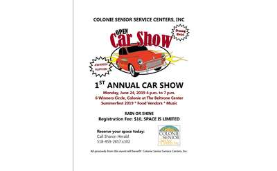 Summerfest Car Show Poster