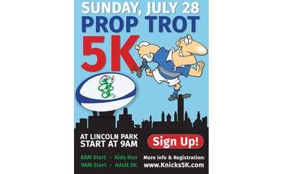 Prop Trot 5k Poster