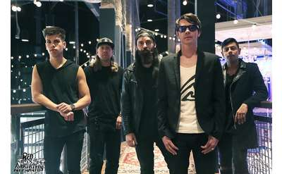 Red Jumpsuit Apparatus Band Photo