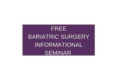 Bariatric Surgery Informational Seminars Banner