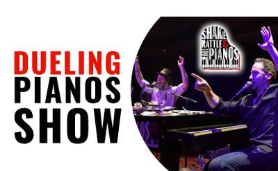 Dueling Pianos Show Banner