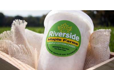 Make Cotton Candy with Riverside Maple Farms