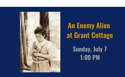 Enemy Alien at Grant Cottage BAnner