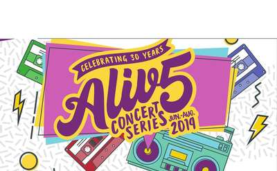 alive at five concert series image