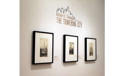 The Towering City Exhibit Photo