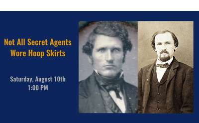 Not All Secret Agents Wore Hoop Skirts Banner