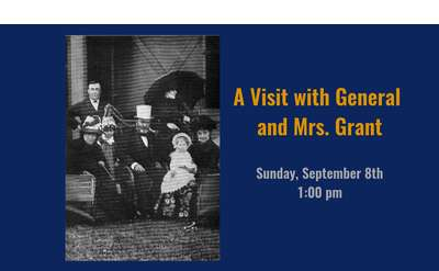 Visit with General and Mrs. Grant Banner