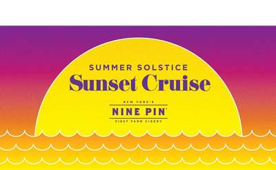 sunset cruise summer solstice