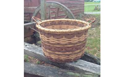 Double-Bottomed Bushel Basket Photo