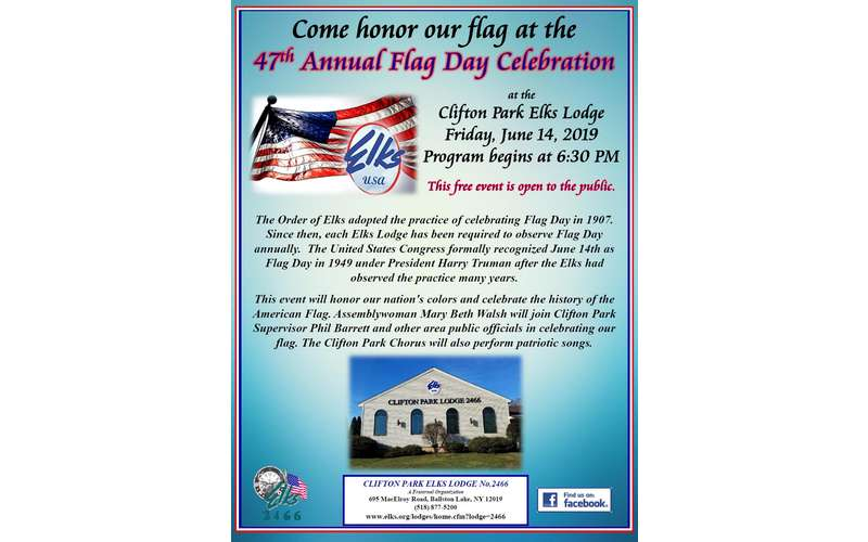 47th Flag Day Poster