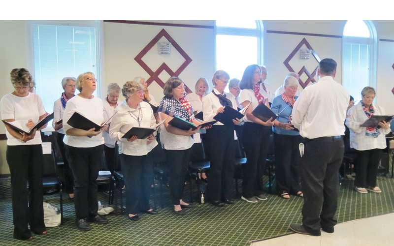 Flag Day Chorus Photo