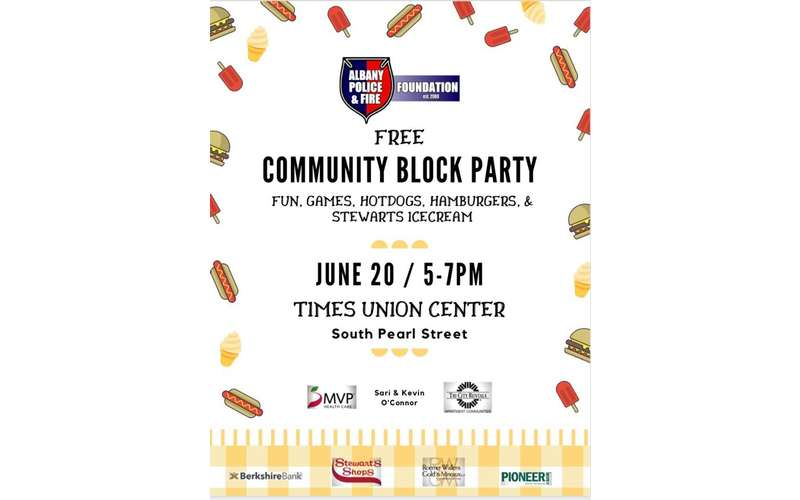 Image result for Albany Police & Fire Foundation Community Block Party