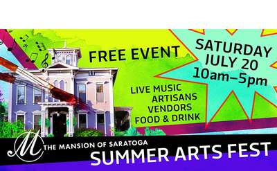 Summer Arts Fest Banner