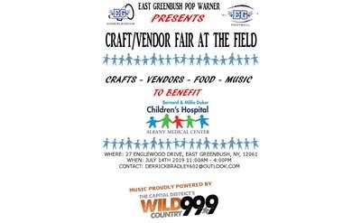 Craft & Vendor Fair Poster