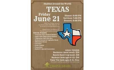 Texas BBQ Poster