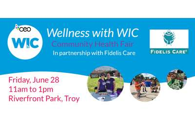 Wellness with WIC Banner