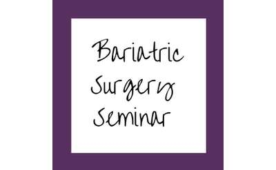 Bariatric Surgery Seminar Banner