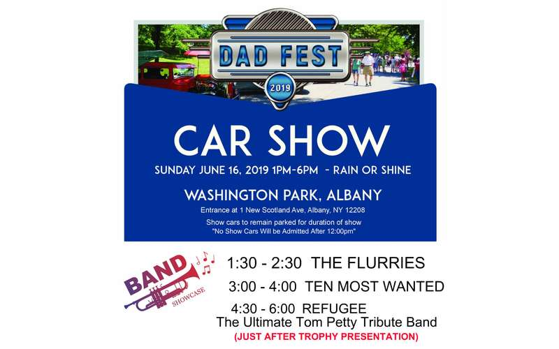 Dad Fest Car Show Banner