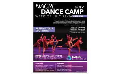 Nacre Dance Camp Poster