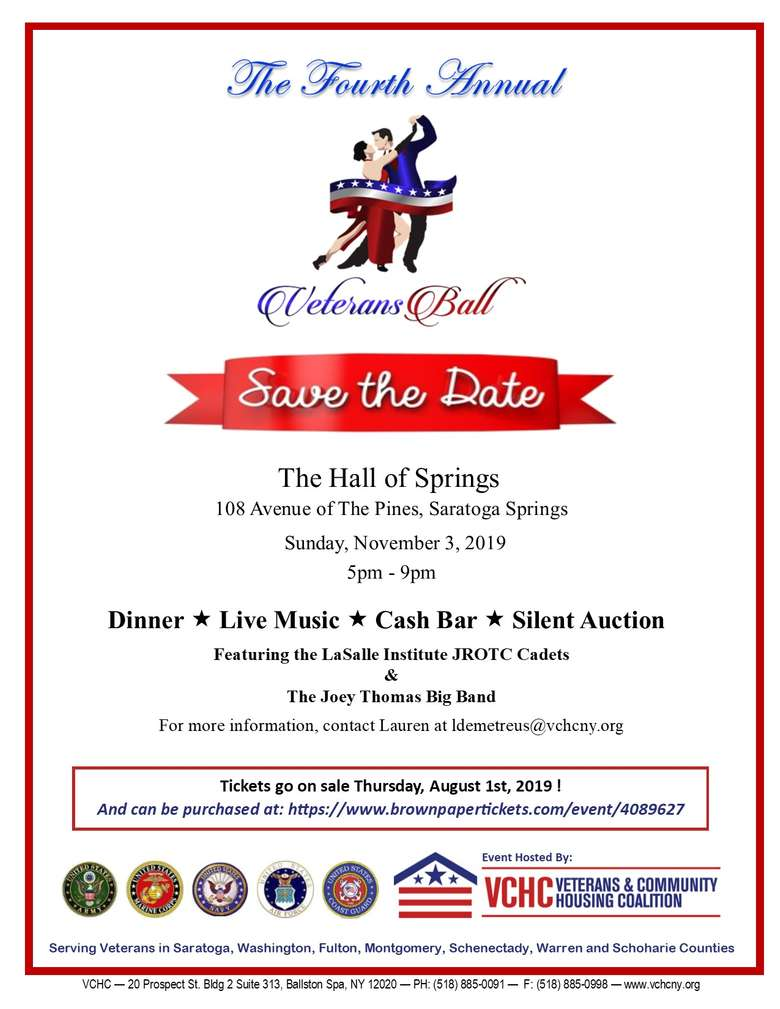 veterans ball save the date