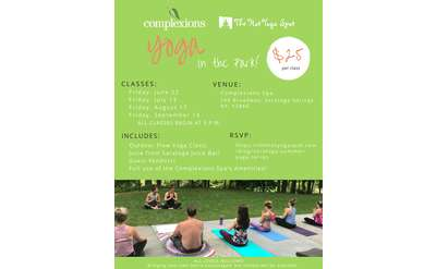 Yoga In The Park Poster
