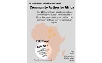 Community Action for Africa Poster