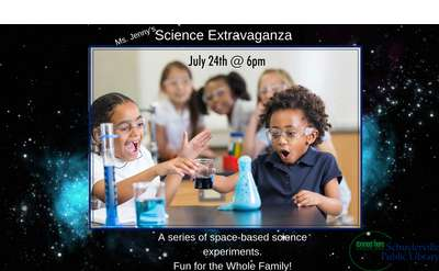 Science Extravaganza Banner