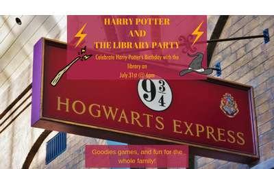 Harry Potter's Birthday Banner