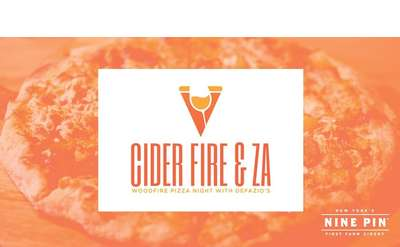 Cider, Fire & Za: Woodfire Pizza Night with Defazios