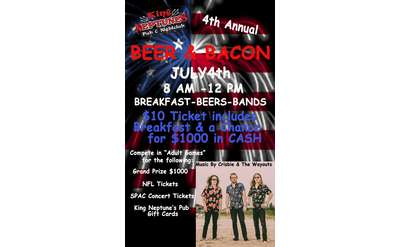 4th Annual Beer & Bacon Breakfast