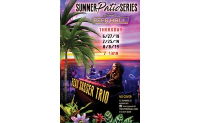Summer Patio Series w/ The Beau Sasser Trio