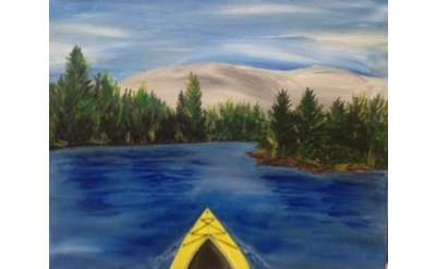ADK Kayaking Paint Event - Special Price & Family Friendly!