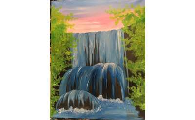 Tranquil Waters Paint Event - Special Price & Family Friendly!
