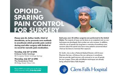 Opioid-Sparing Pain Control for Surgery Banner