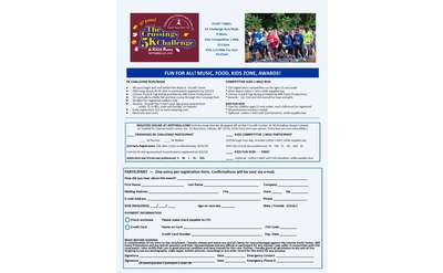 Crossings 5K registration