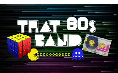 The 80s Band Banner