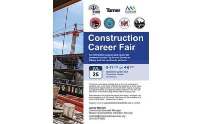 Construction Career Fair Poster