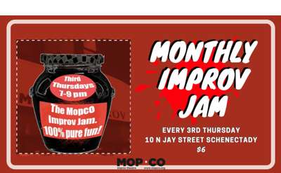 Monthly Improv Jam