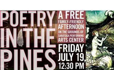 Poetry in the Pines Banner