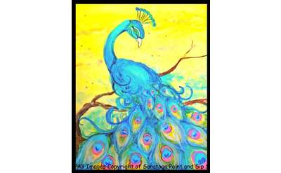 Sangria Saturday Painting Example