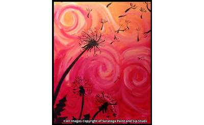 Wishes in the Wind Painting Example