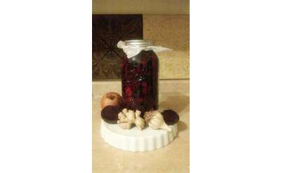 Herbal Infused Vinegar Photo