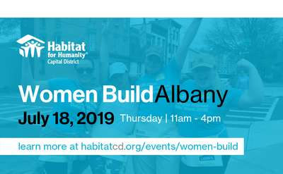 Women Build Albany Banner